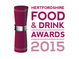Hertfordshire Food & Drink Awards Winner 2015