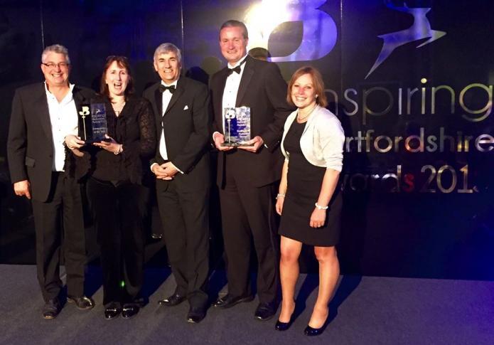 Inspiring Hertfordshire Award Winner