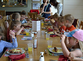 Childrens parties at Granny Smiths Tea Rooms