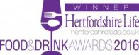 Hertfordshire Life Magazine - Winners 2016 Food Education & Independent Retailer Award 2016