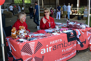 Supporting Herts Air Ambulance