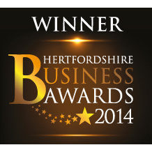 Hertfordshire Business Awards Winner