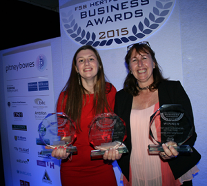 Winner FSB Hertfordshire Awards