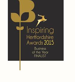 Finalist Inspiring Hertfordshire Awards 2015