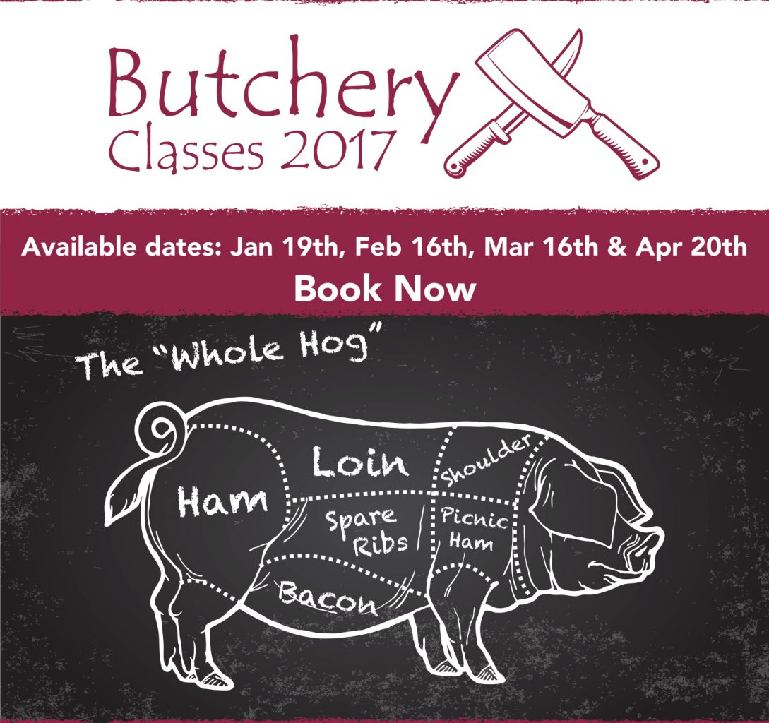 A5 2-up 2017 Butchery Classes Flyer