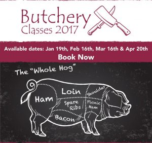 A5 2-up 2017 Butchery Classes Flyer